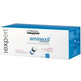 Loreal Professionnel Aminexil Advanced sistema nuo plaukų retėjimo