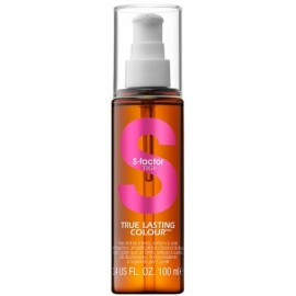 Tigi S Factor True Lasting Colour aliejus dažytiems plaukams 100 ml.