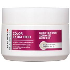 Goldwell Dualsenses Color Extra Rich 60 Sec gydomoji priemonė dažytiems plaukams 200 ml.