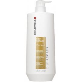 Goldwell Dualsenses Rich Repair šampūnas sausiems ir lūžinėjantiems plaukams 1500 ml.