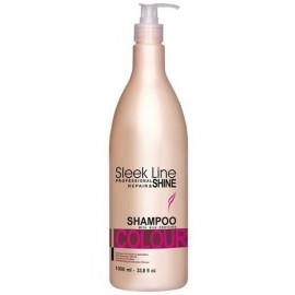 Stapiz Sleek Line Colour šampūnas dažytiems plaukams