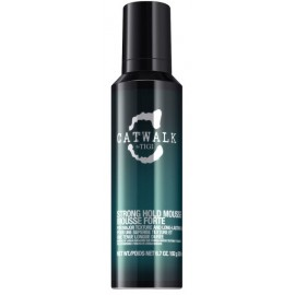 Tigi Catwalk Strong Hold Mousse stiprios fiksacijos putos 200 ml.