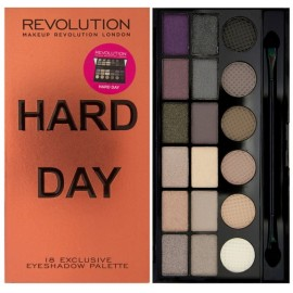 Makeup Revolution Salvation Palette HARD DAY akių šešėlių paletė 13 g.