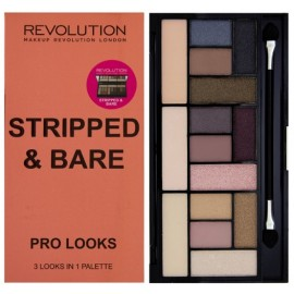 Makeup Revolution Salvation Palette Pro Looks Stripped&Bare šešėlių paletė 13 g.