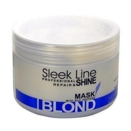Stapiz  Sleek Line Blond kaukė šviesiems plaukams 250 ml.