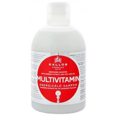 Kallos Multivitamin Energising šampūnas 1000 ml.