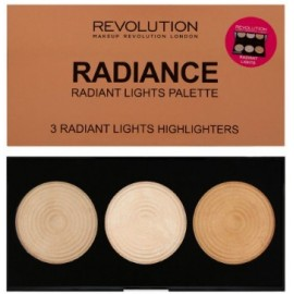 Makeup Revolution Highlighter Palette Radiance švytėjimo suteikianti paletė 15 g.
