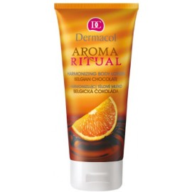 Dermacol Aroma Ritual Body Lotion Belgian Chocolate kūno losjonas 200 ml.