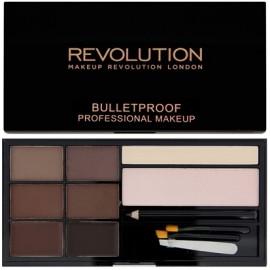 Makeup Revolution Ultra Brow antakių paletė Medium To Dark