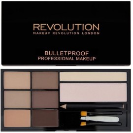 Makeup Revolution Ultra Brow Palette antakių paletė Fair To Medium