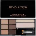 Makeup Revolution Ultra Brow Palette antakių paletė Fair To Medium