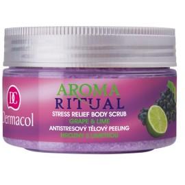 Dermacol Aroma Ritual Body Scrub Grape&Lime kūno šveitiklis 200 g.
