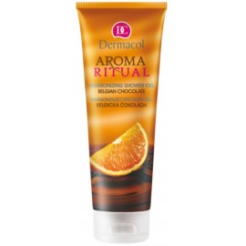 Dermacol Aroma Ritual Shower Gel Belgian Chocolate dušo gelis 250 ml.