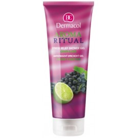Dermacol Aroma Ritual Shower Gel Grape&Lime dušo gelis 250 ml.