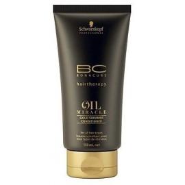 Schwarzkopf Professional BC Bonacure Oil Miracle Gold Shimmer kondicionierius storiems plaukams 150 ml.