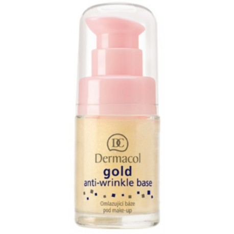 Dermacol Gold Anti-Wrinkle makiažo bazė 15 ml.