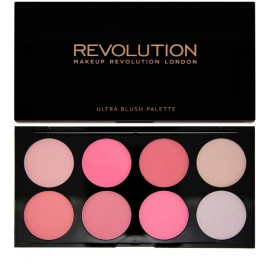 Makeup Revolution Ultra Blush (Blush&Contour Palette) skaistalų paletė All About Pink 13 g.