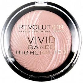 Makeup Revolution Vivid Baked švytėjimo suteikianti priemonė Peach Lights 7,5 g.