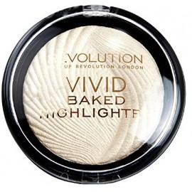 Makeup Revolution Vivid Baked švytėjimo suteikianti priemonė Golden Lights 7,5 g.
