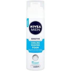 Nivea Men Sensitive Cooling skutimosi putos jautriai odai 200 ml.