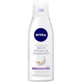Nivea Sensitive 3in1 Micellar micelinis vanduo 200 ml.