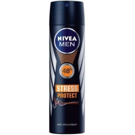 Nivea Men Stress Protect 48h purškiamas antiperspirantas vyrams 150 ml.