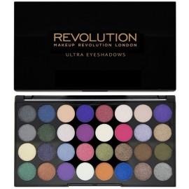 Makeup Revolution Ultra Eyeshadows Palette Eyes Like Angels šešėlių paletė 16 g.