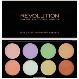 Makeup Revolution Ultra Base Corrector maskuoklių paletė 13 g.