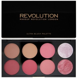 Makeup Revolution Ultra Blush&Contour skaistalų paletė Sugar And Spice 13 g.