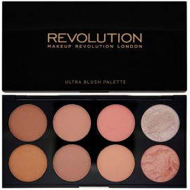Makeup Revolution Ultra Blush skaistalų paletė Hot Spice 13 g.