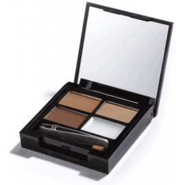Makeup Revolution Focus & Fix Brow Kit antakių paletė Medium Dark 4 g.