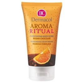 Dermacol Aroma Ritual Body Scrub Belgian Chocolate kūno šveitiklis 150 ml.