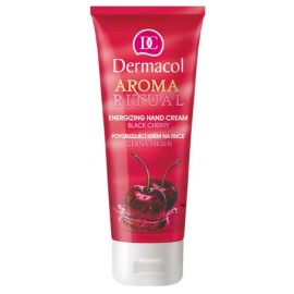 Dermacol Aroma Ritual Hand Cream Black Cherry rankų kremas 100 ml.