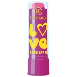 Dermacol Love Lips SPF 15 lūpų balzamas 10 Grape