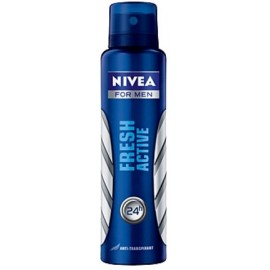 Nivea Men Fresh Active purškiamas antiperspirantas vyrams 150 ml.
