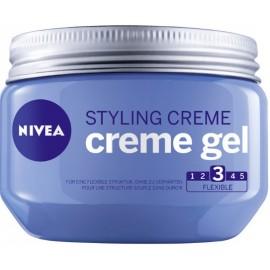 Nivea Styling Cream Creme Gel plaukų modeliavimo priemonė 150 ml.