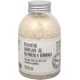 Sefiros Original Dead Sea Rosemary & Camomile aromatinė vonios druska 500 ml.