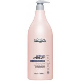 Loreal Professionnel Lumino Contrast šampūnas sruogelėmis dažytiems plaukams 1500 ml.