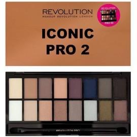 Makeup Revolution Salvation Palette Iconic Pro 2 akių šešėlių paletė 16 g.