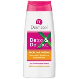 Dermacol Detox&Defence detoksikuojantis micelinis vanduo 200 ml.