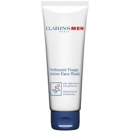 Clarins Men Active Face Wash veido prausiklis vyrams 125 ml.