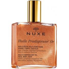 Nuxe Multifunctional dry oil sausas aliejus su švytinčiomis dalelėmis veidui/kūnui/plaukams