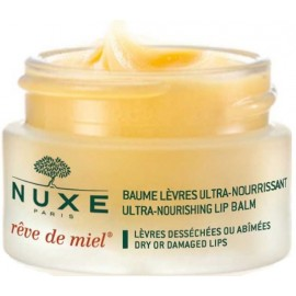 Nuxe Reve de Miel maitinamasis lūpų balzamas sausoms/pažeistoms lūpoms 15 ml.