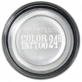 Maybelline Eye Studio Color Tattoo akių šešėliai 50 Eternal Silver