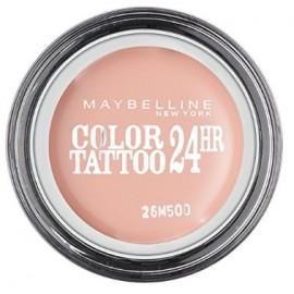 Maybelline Eye Studio Color Tattoo Creamy Mattes akių šešėliai 91 Creme De Rose