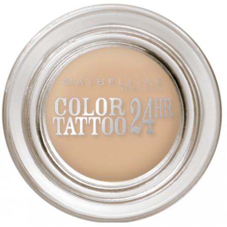 Maybelline Eye Studio Color Tattoo Creamy Mattes akių šešėliai 93 Creme De Nude