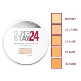 Maybelline SuperStay 24 Hour Longwear kompaktinė pudra