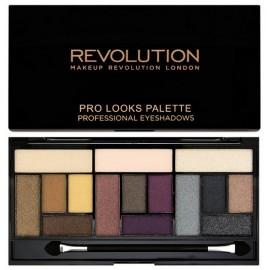 Makeup Revolution PRO LOOKS Big Love akių šešėlių paletė 13 g.