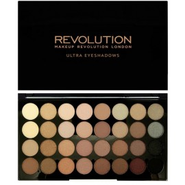 Makeup Revolution Ultra Eyeshadows Palette Beyond Flawless šešėlių paletė 16 g.