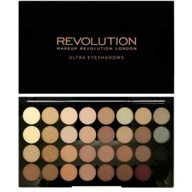 Makeup Revolution Beyond Flawless šešėlių paletė 16 g.